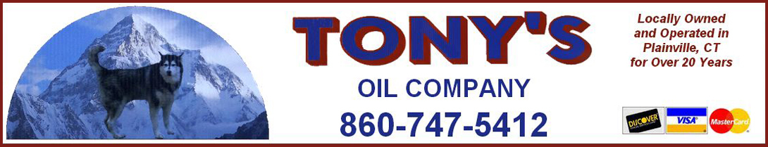 Tony's Oil Company has dependable heating oil delivery service